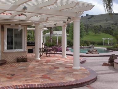 Flagstone patio