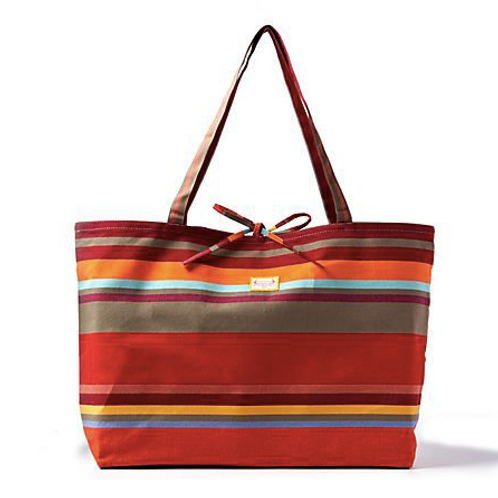Large Collioure Rouge Tote