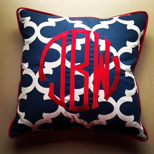 Monogram Pillow (Pillow Talk)