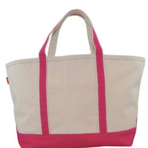 Hot Pink Boat Tote