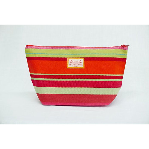 Ceret Orange Cosmetic Bag