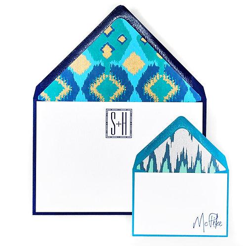Pawnee Letterpress Note