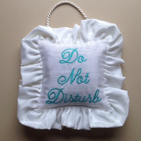 """""""Do Not Disturb"""" Door Pillow (Pillow Talk)"""