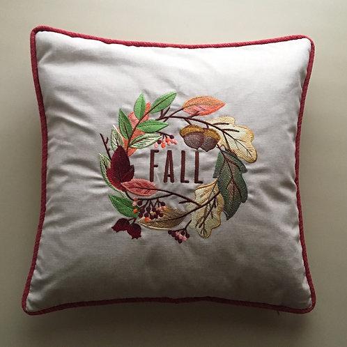 """""""Fall"""" Throw Pillow"""