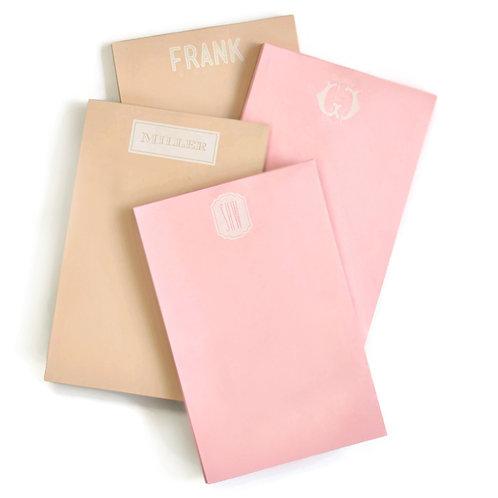 Large Pastel Note Pad