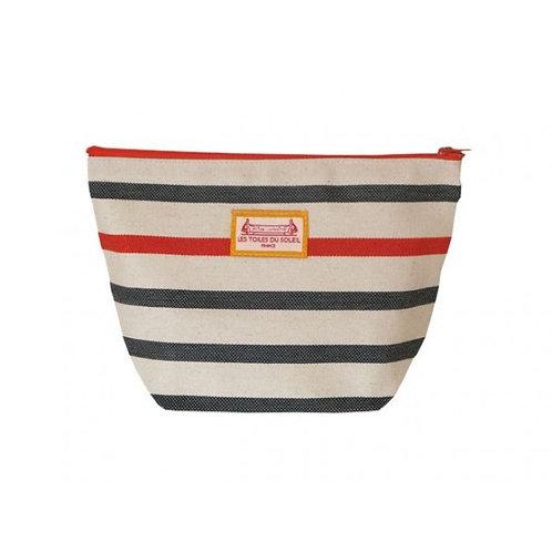 Marin Orange Cosmetic Bag