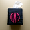 Thumbnail: Monogram Tissue Box Cover (Pillow Talk)