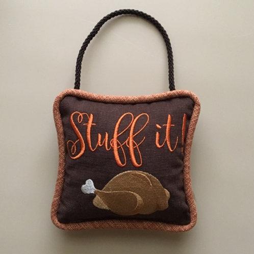 """""""Stuff It"""" Door Pillow"""
