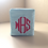 Thumbnail: Monogram Tissue Box Cover (Pillow Talk)
