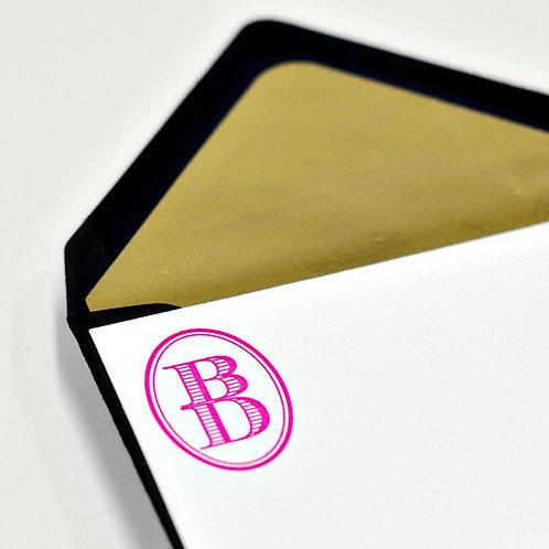 Gilded Letterpress Enclosure