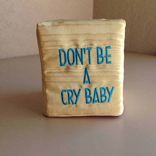 """""""Cry Baby"""" Tissue Box Cover (Pillow Talk)"""