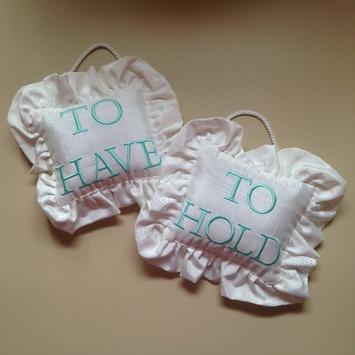 """To Have and To Hold"" Door Pillows (Pillow Talk)"