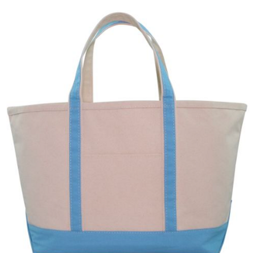 Baby Blue Boat Tote