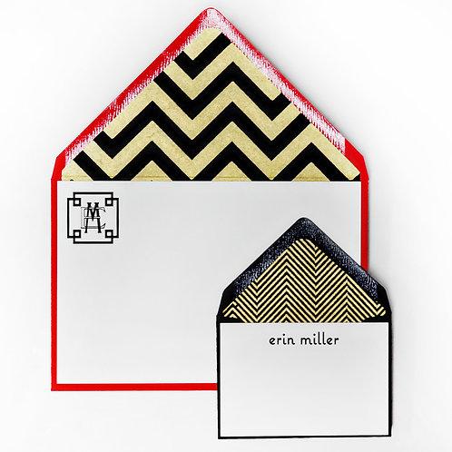 Big Top Letterpress Note