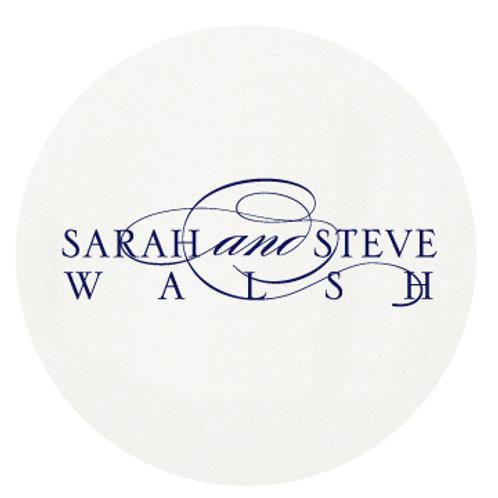 Swirl Couple Coasters