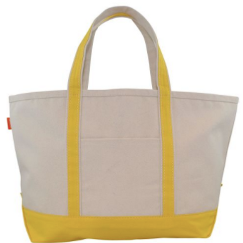 Yellow Boat Tote