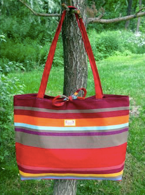 Collioure Rouge Tote Bag