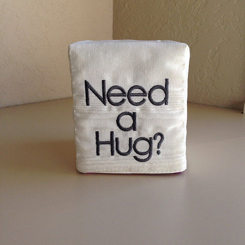"""Need a Hug?"" Tissue Box (Pillow Talk)"