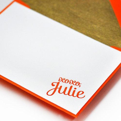 Tangelo Letterpress Enclosure