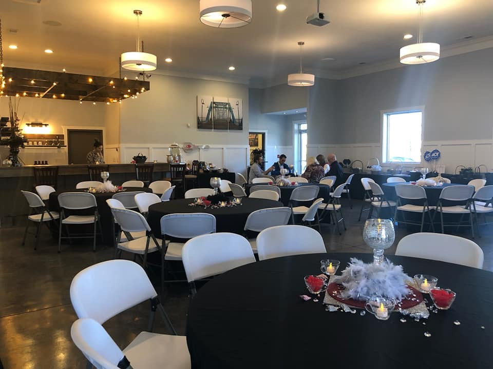 The Chattanooga Event Center accomodates up to 80 guests.
