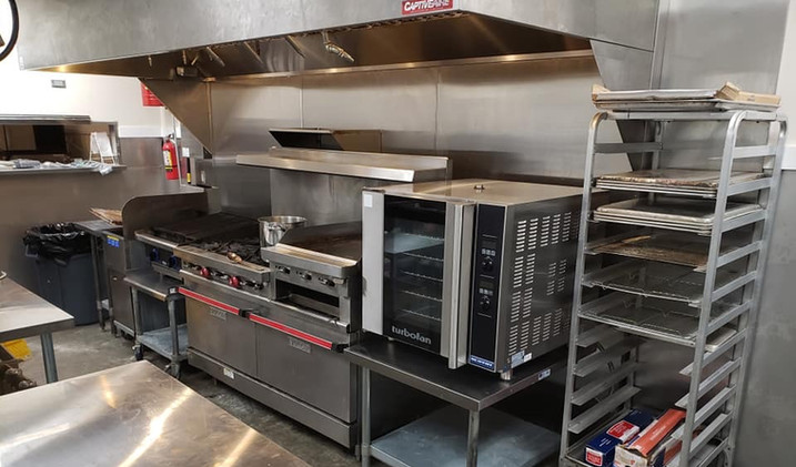 The Chattanooga Commercial Kitchen Hot Prep