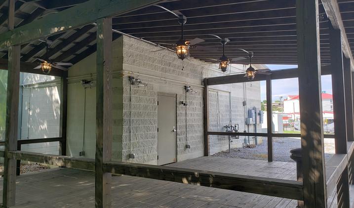 Event Center Outdoor Patio & Deck