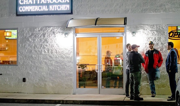 The Chattanooga Commercial Kitchen Front Entrance