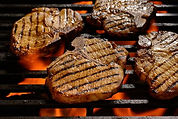 grilled-pork-steak-on-the-flaming-grill-