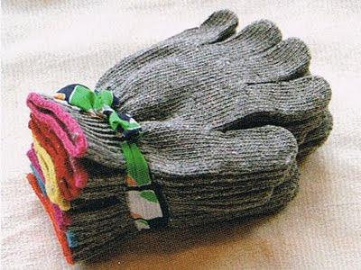 【お知らせ】Tシャツ5枚→手袋1組