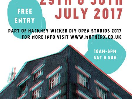 OPEN STUDIOS @ Hackney WickED DIY Open Studios 2017