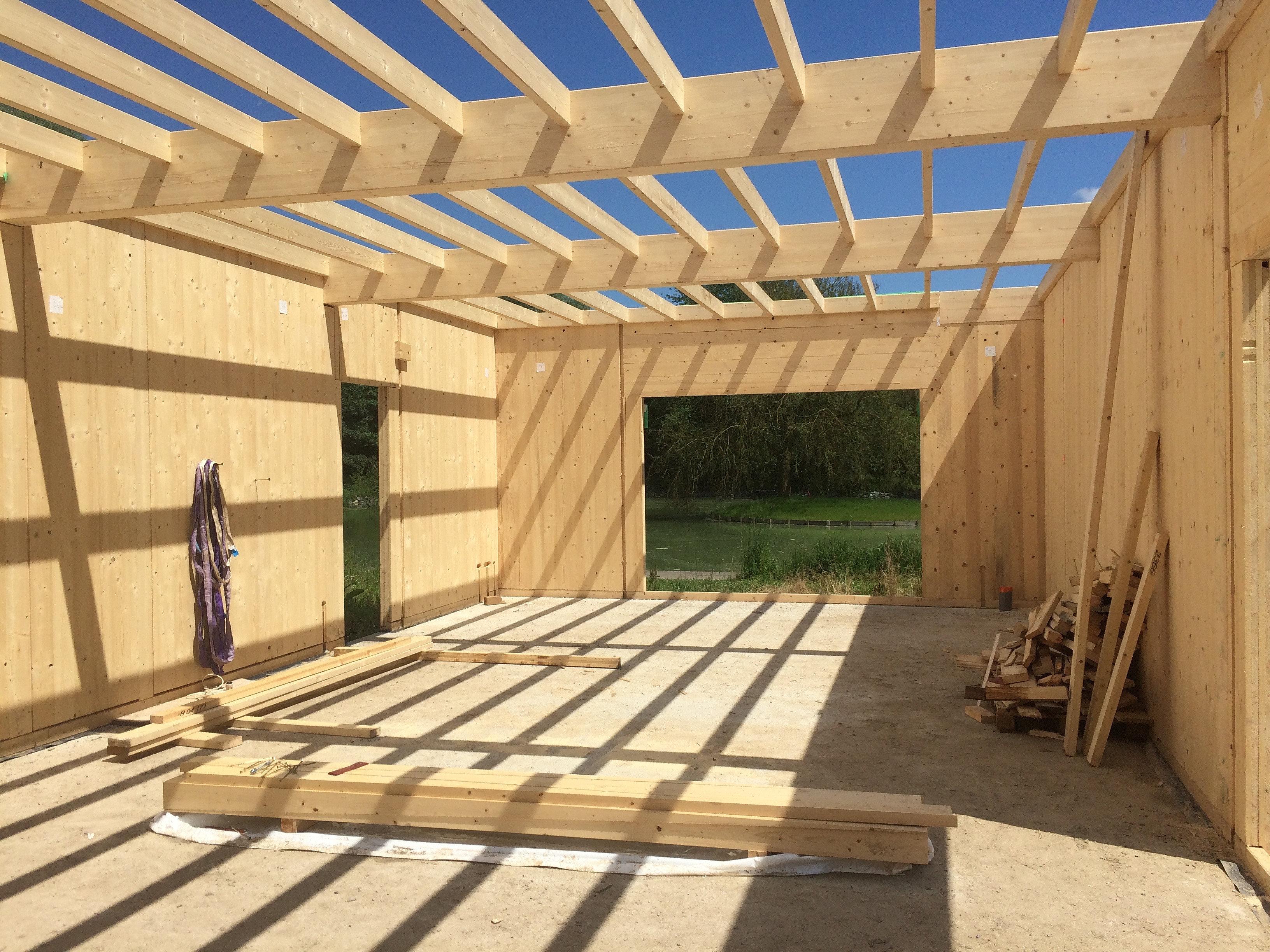 Boissimmo constructeur en ossature bois projet 26 for Constructeur de maison en bois massif