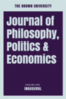 Volume One Inaugural Cover