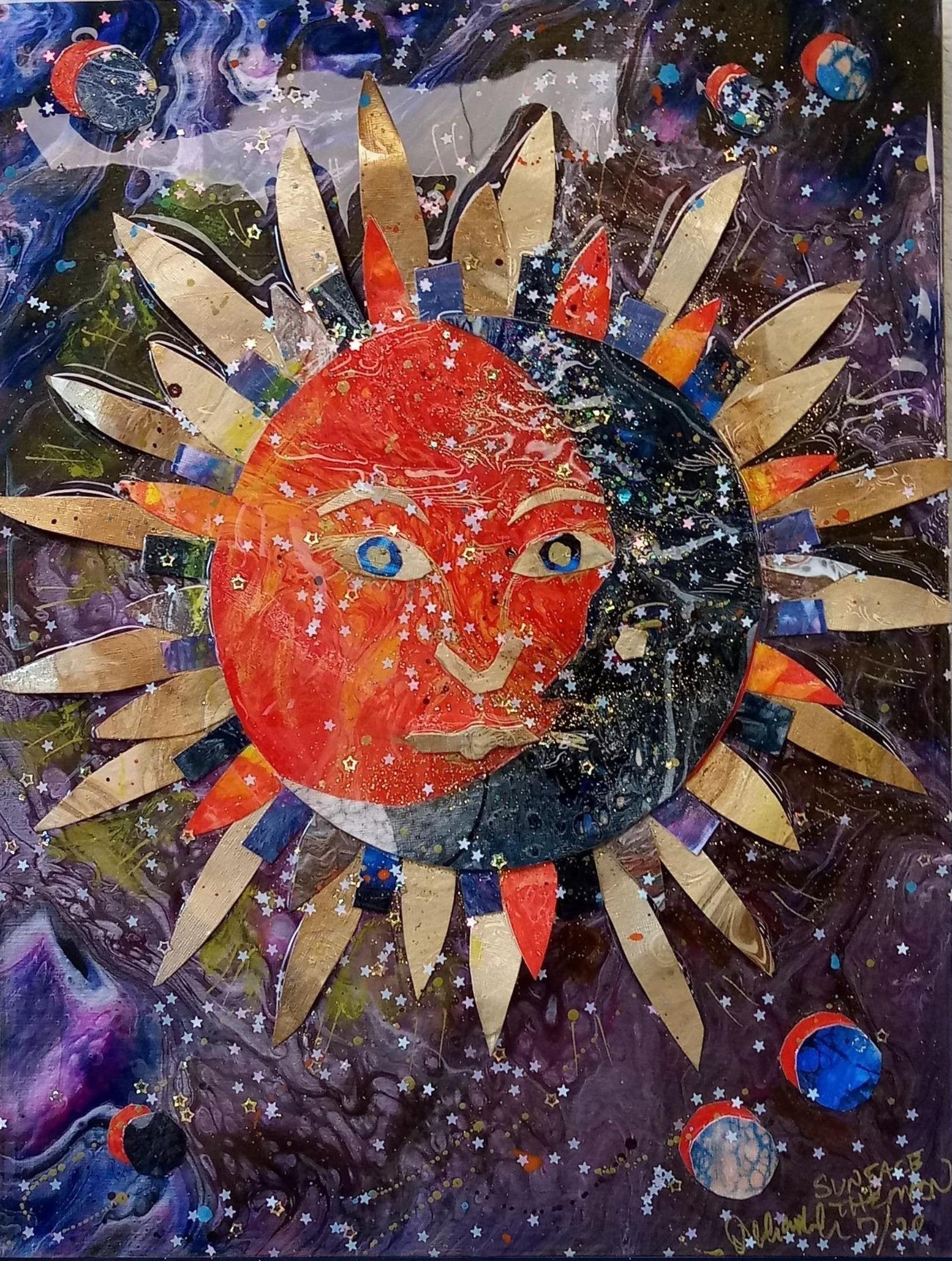 Sun Face the Moon