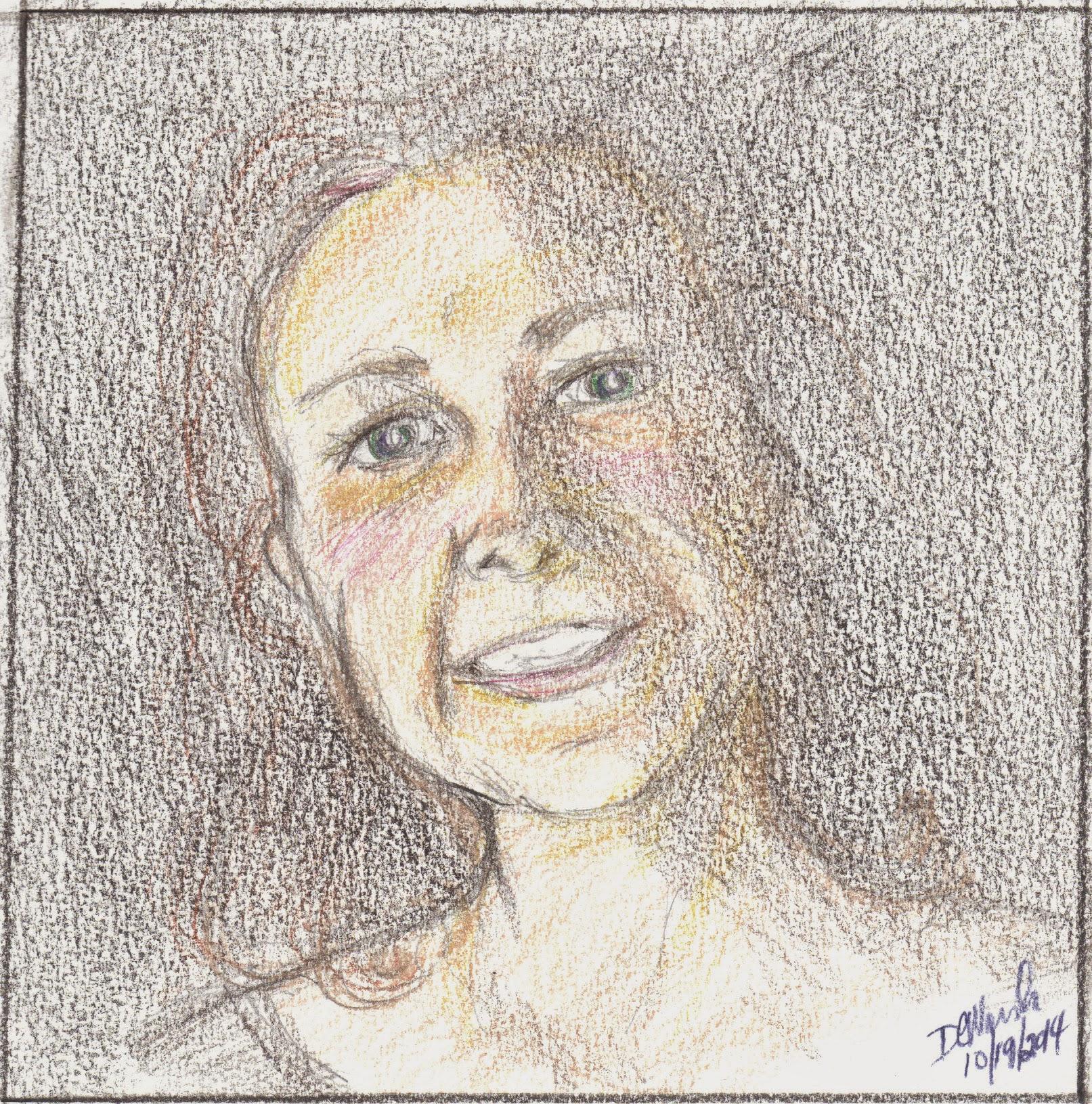 Sketchbook - Self Portrait (2014)