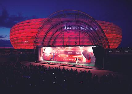 MAN FC Bayern München team bus
