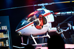 Julius Frack Helikopter erscheint