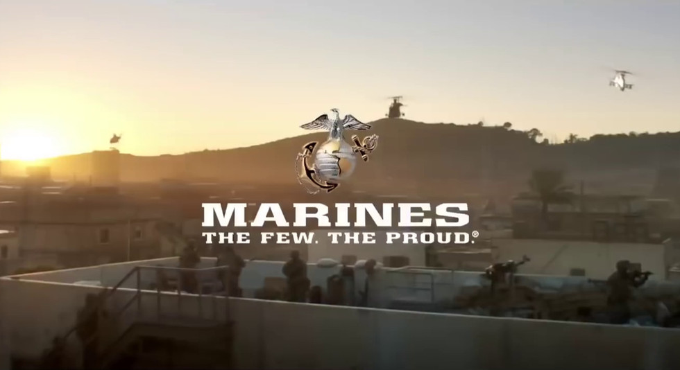 "US Marines Super Bowl 2018 - ""A Nation's Call"""