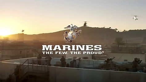 "US Marines Super Bowl 2018 - ""A Nation's Call"""