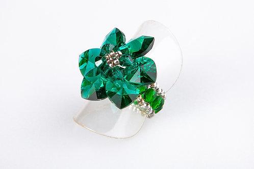 פרח ירוק