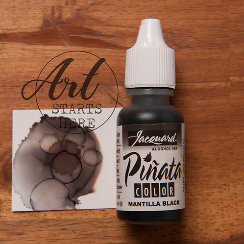 Pinata Alcohol Ink Black