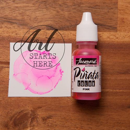 Pinata Alcohol Ink Pink