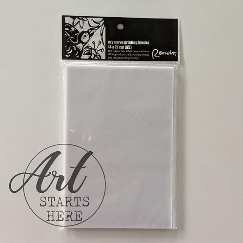 Renoir Ezy Carve Printing Blocks A5 14cm x 21cm