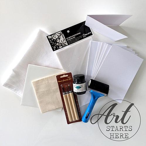 Block Printing Starter Kit