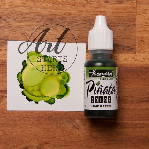 Pinata Alcohol Ink Lime Green