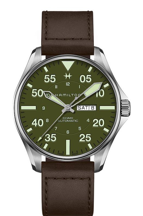 Hamilton Genève H64735561 Khaki Schott Limited Watch Addict GVA