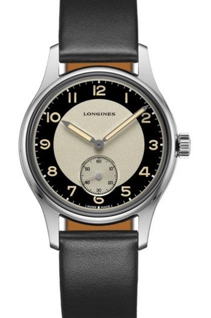 Longines Geneve Heritage Classic Tuxedo Watch Addict GVA