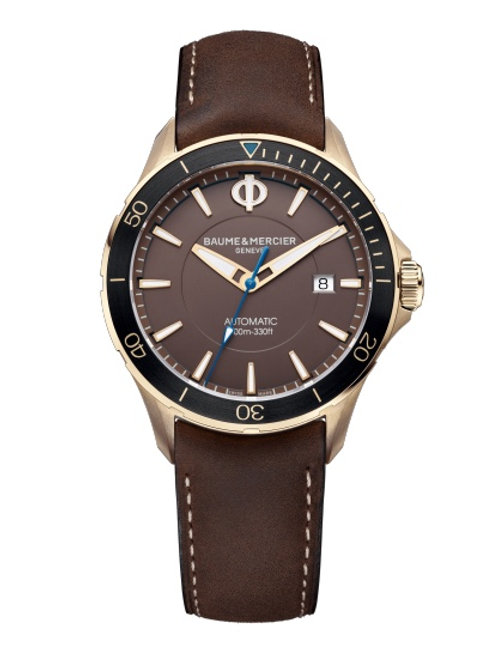 Baume Mercier Geneve Clifton Club Bronze 10501