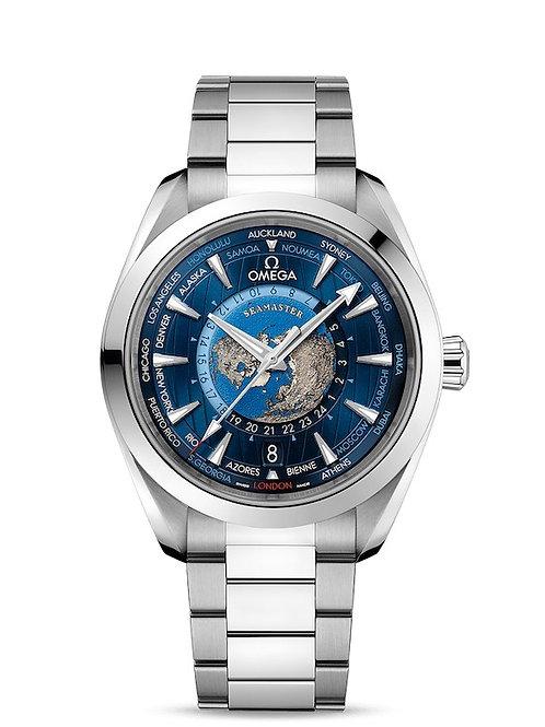 Seamaster Aqua Terra Worldtimer 22010432203001