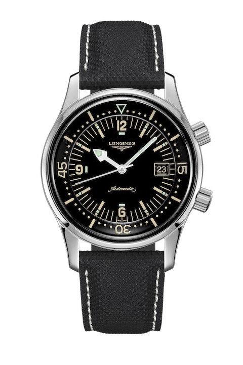 Montre Plongée Vintage Pas Chère Longines Geneve Legend Diver L3.774.4.50.0
