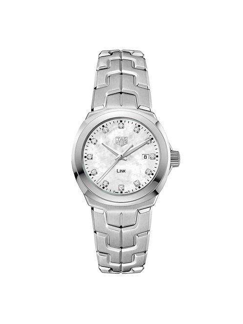 Link Lady White Pearl 32mm WBC1312.BA0600